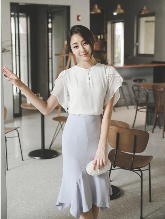 sơ mi, sơ mi trắng, áo công sở, thời trang công sở, mẫu áo trắng công sở