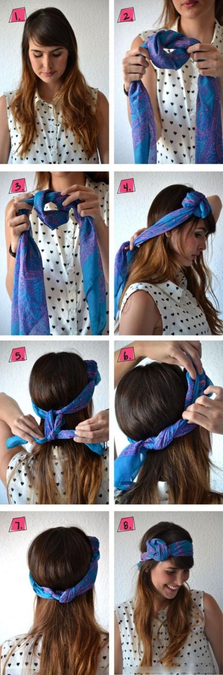 cách thắt khăn turban, khăn turban