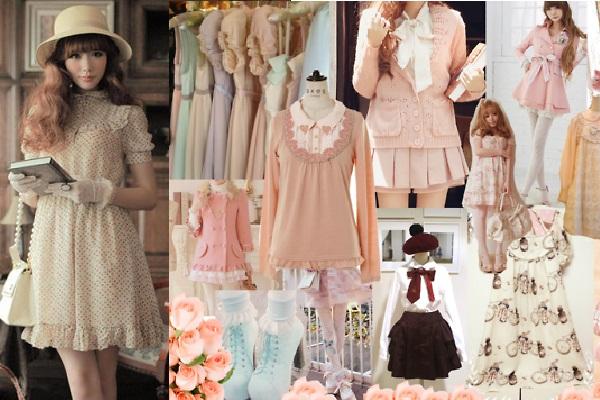 phong cách thời trang Nhật Bản