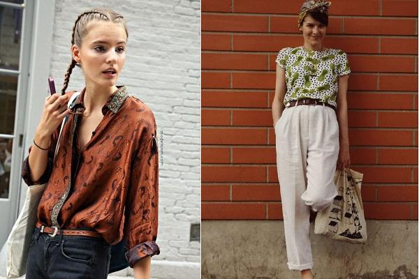 phong cách thời trang vintage