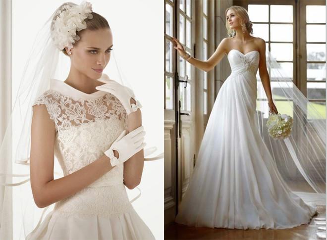 tư vấn mẫu váy cưới theo dáng người, bộ sưu tập váy cưới