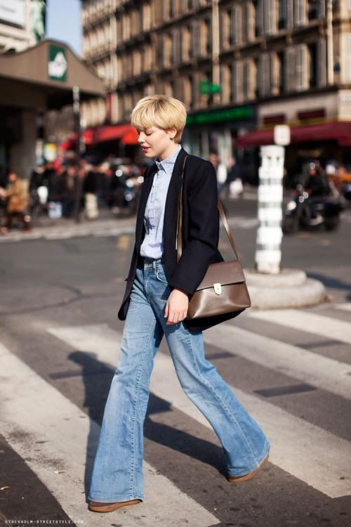 quần ổng vẩy, xu hướng thời trang lên ngôi năm 2018