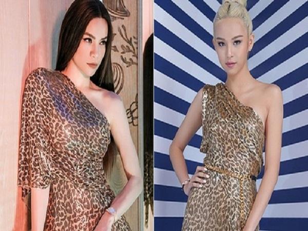 Phí Phương Anh tạo điểm nhấn khi diện lại váy của Hồ Ngọc Hà