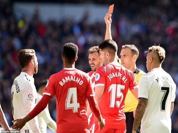 Ramos lập 2 kỷ lục La Liga trong ngày Real Madrid thất bại