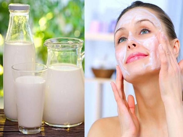 cách làm mặt nạ sữa tươi làm đẹp da