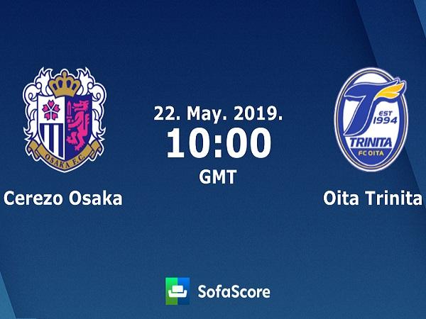 Dự đoán Cerezo Osaka vs Oita Trinita, 17h00 ngày 22/05
