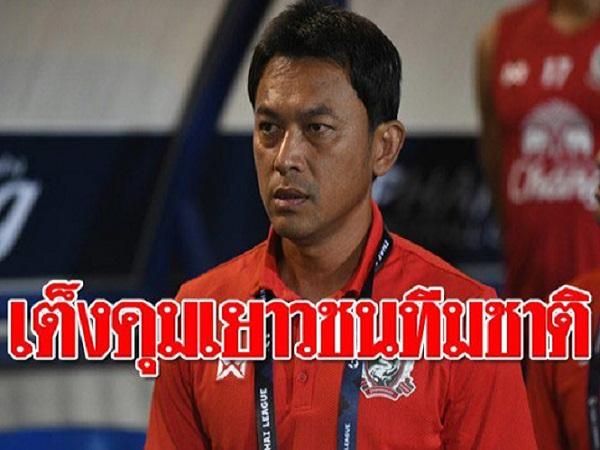 Cựu sao HAGL dẫn dắt U23 Thái Lan dự SEA Games