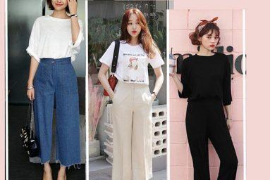 Giải mã xu hướng quần culottes thống trị làng thời trang 2019