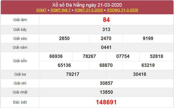 Soi cầu KQXS Đà Nẵng 25/3/2020 - XSDNG hôm nay