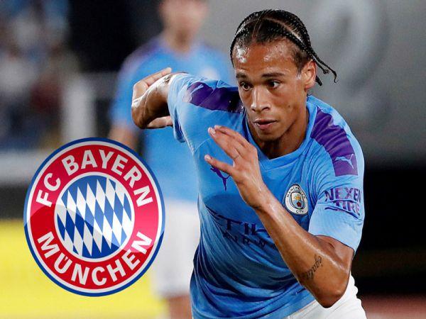 Bayern đạt thỏa thuận với Sane hài lòng Man City