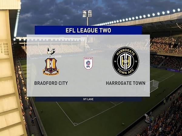Soi kèo Bradford City vs Harrogate 01h45, 13/10 - Hạng 3 Anh