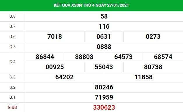 Soi cầu dự đoán XS Đồng Nai Vip ngày 03/02/2021