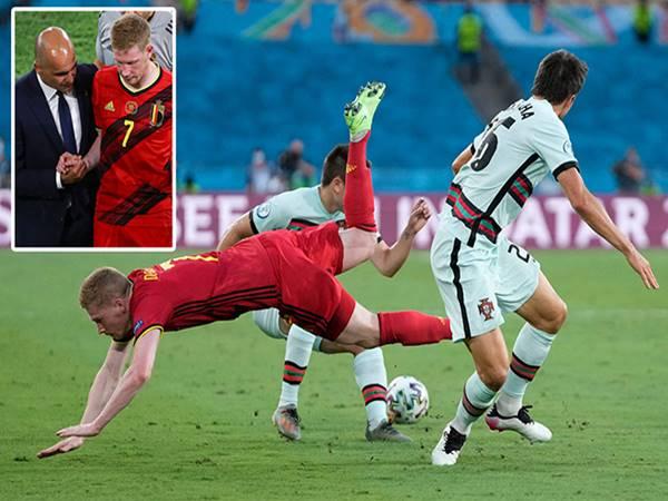 Bóng đá trưa 28/6: Bỉ tổn thất lớn sau trận thắng Bồ Đào Nha