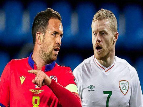 Nhận định, Soi kèo Andorra vs Ireland, 23h00 ngày 3/6 - Giao Hữu ĐTQG